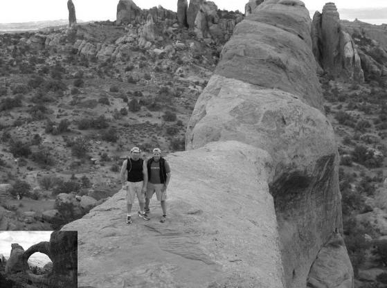 Jerome Allen (left) and Rand Smith (right) Moab UT